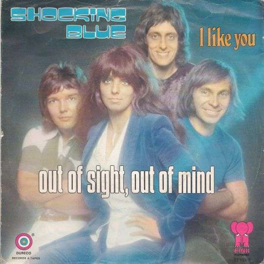 Coverafbeelding Out Of Sight, Out Of Mind - Shocking Blue