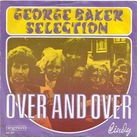 Coverafbeelding Over And Over - George Baker Selection