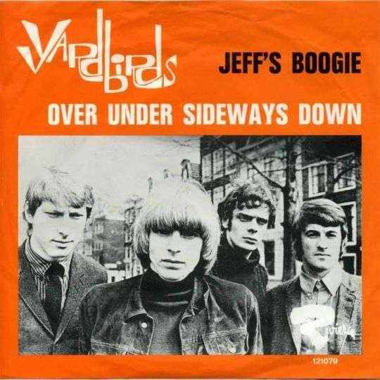Coverafbeelding The Yardbirds - Over Under Sideways Down