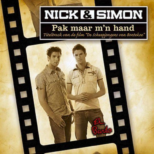 """Coverafbeelding Pak Maar M'n Hand - Titeltrack Van De Film """"de Scheepjongens Van Bontekoe"""" - Nick & Simon"""