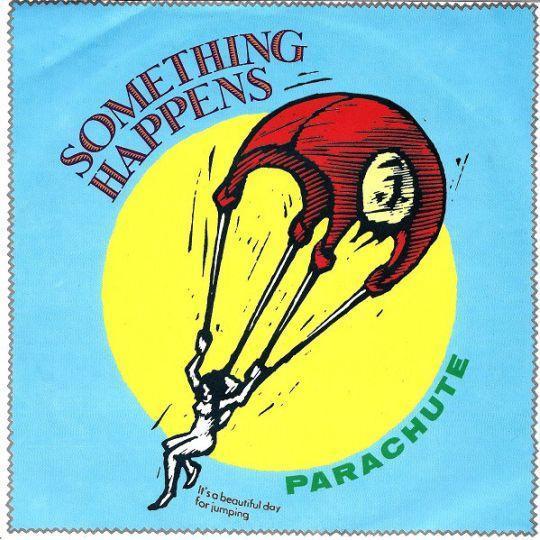 Coverafbeelding Something Happens - Parachute