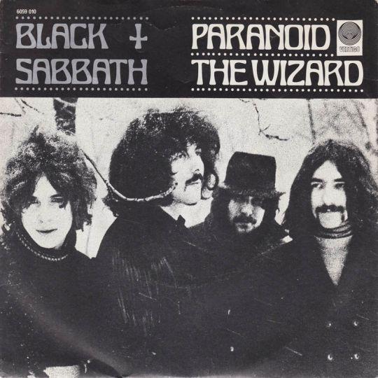 Coverafbeelding Black Sabbath - Paranoid