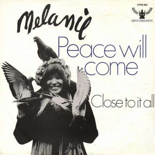 Coverafbeelding Melanie - Peace Will Come