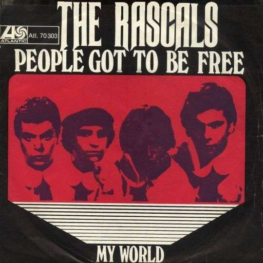 Coverafbeelding People Got To Be Free - The Rascals