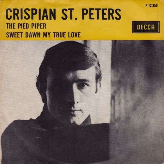 Coverafbeelding Pied Piper / The Pied Piper - The Jets / Crispian St. Peters