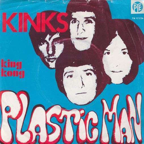 Coverafbeelding Plastic Man - Kinks