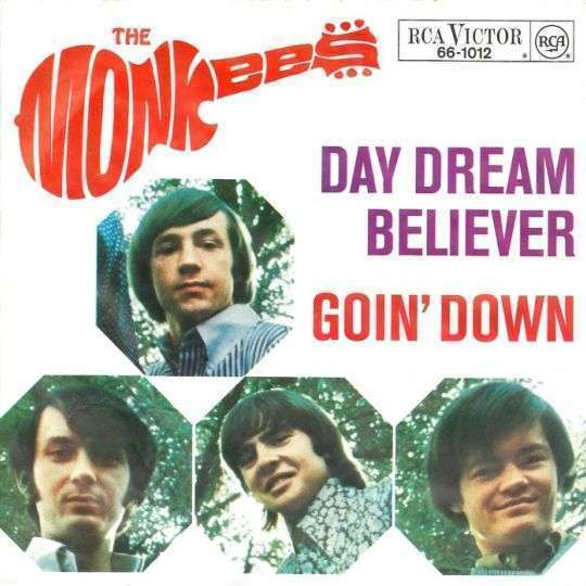 Coverafbeelding Day Dream Believer - The Monkees