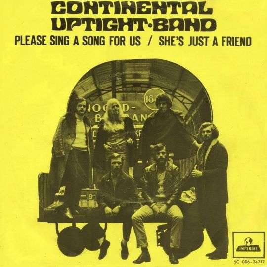 Coverafbeelding Continental Uptight Band - Please Sing A Song For Us