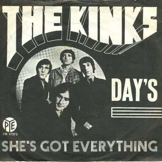 Coverafbeelding Day's - The Kinks