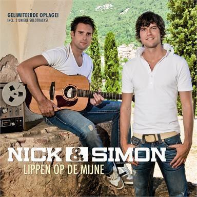 Coverafbeelding Lippen Op De Mijne - Nick & Simon