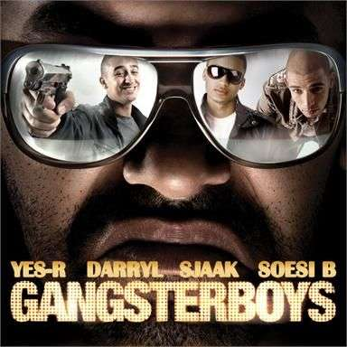 Coverafbeelding Gangsterboys - Yes-r & Darryl & Sjaak & Soesi B