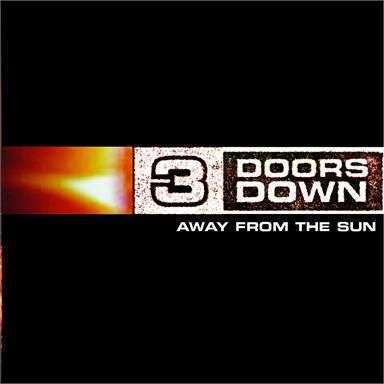 Coverafbeelding Away From The Sun - 3 Doors Down