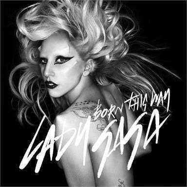 Coverafbeelding Born This Way - Lady Gaga
