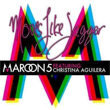 Coverafbeelding Maroon 5 featuring Christina Aguilera - Moves like Jagger