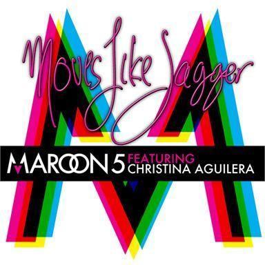 Coverafbeelding Moves Like Jagger - Maroon 5 Featuring Christina Aguilera