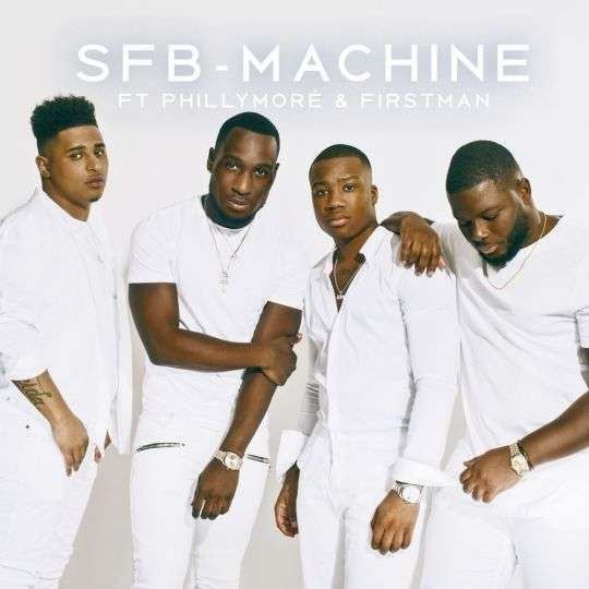 Coverafbeelding SFB, Philly Moré & F1rstman - Machine