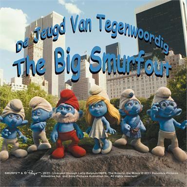 Coverafbeelding The Big Smurfout - De Jeugd Van Tegenwoordig