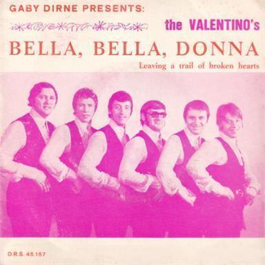 Coverafbeelding Gaby Dirne presents: The Valentino's - Bella, Bella, Donna