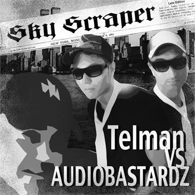 Coverafbeelding Telman vs Audiobastardz - Sky scraper