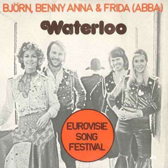 Coverafbeelding Waterloo - Bj�rn, Benny Anna & Frida (Abba)