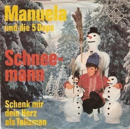 Coverafbeelding Manuela und Die 5 Dops - Schneemann