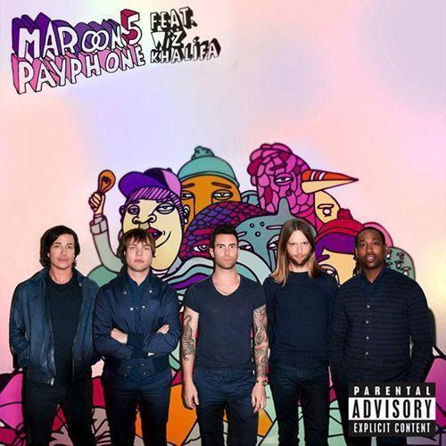 Coverafbeelding Payphone - Maroon 5 Feat. Wiz Khalifa