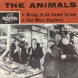 Coverafbeelding Bring It On Home To Me - The Animals