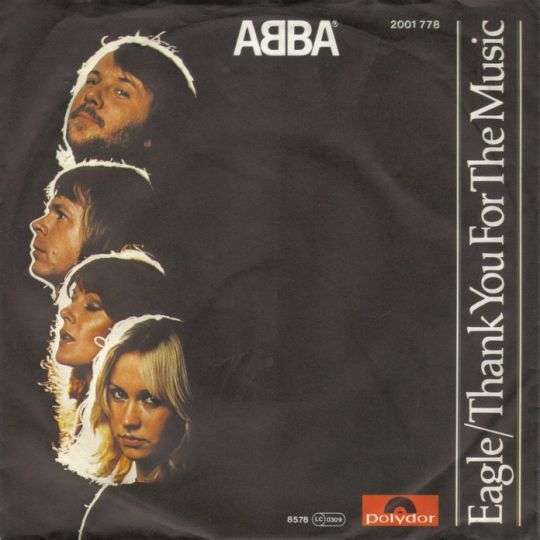 Coverafbeelding ABBA - Eagle/ Thank You For The Music