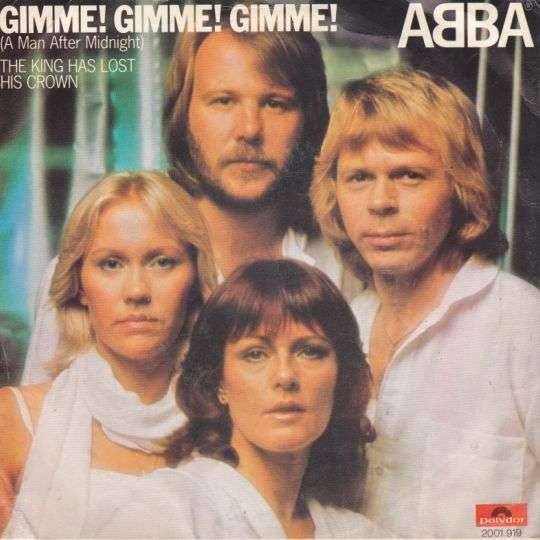 Coverafbeelding ABBA - Gimme! Gimme! Gimme! (A man after midnight)