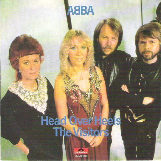 Coverafbeelding ABBA - Head Over Heels