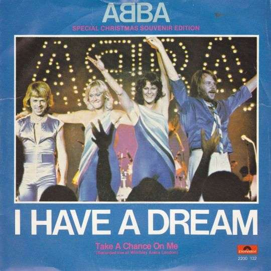 Coverafbeelding ABBA - I Have A Dream