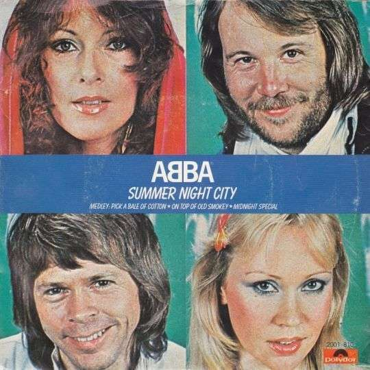 Coverafbeelding ABBA - Summer Night City