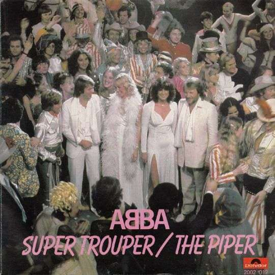 Coverafbeelding Super Trouper - Abba