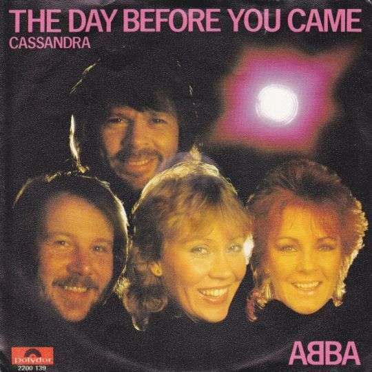 Coverafbeelding The Day Before You Came - Abba