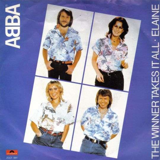 Coverafbeelding ABBA - The Winner Takes It All