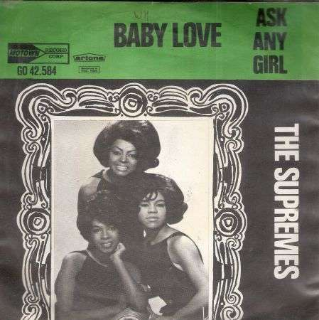 Coverafbeelding Baby Love - The Supremes