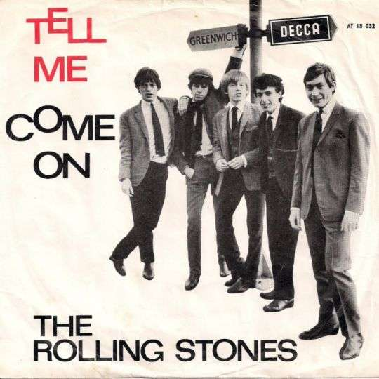 Coverafbeelding Tell Me - The Rolling Stones