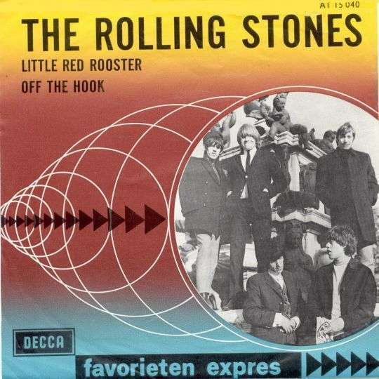 Coverafbeelding The Rolling Stones - Little Red Rooster