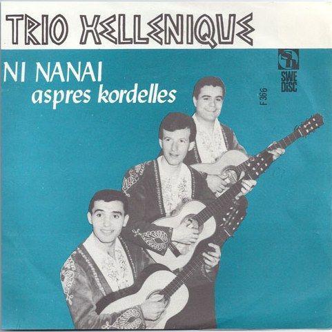 Coverafbeelding Trio Hellenique - Ni Nanai