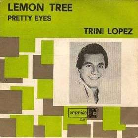Coverafbeelding Lemon Tree - Trini Lopez