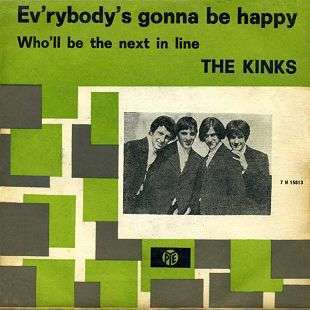 Coverafbeelding Ev'rybody's Gonna Be Happy - The Kinks
