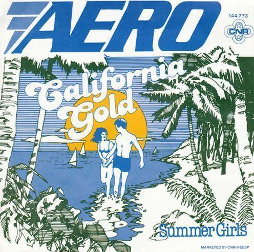 Coverafbeelding California Gold - Aero