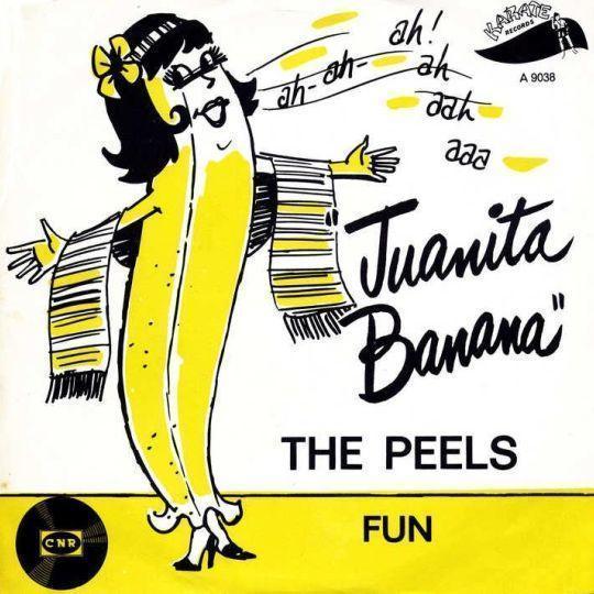 Coverafbeelding Juanita Banana - The Peels / Het Cocktail Trio Met Medewerking Van Fiet Koster