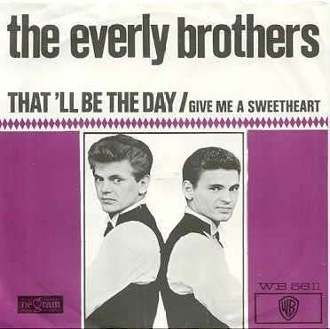 Coverafbeelding That'll Be The Day - The Everly Brothers / The Blue Diamonds