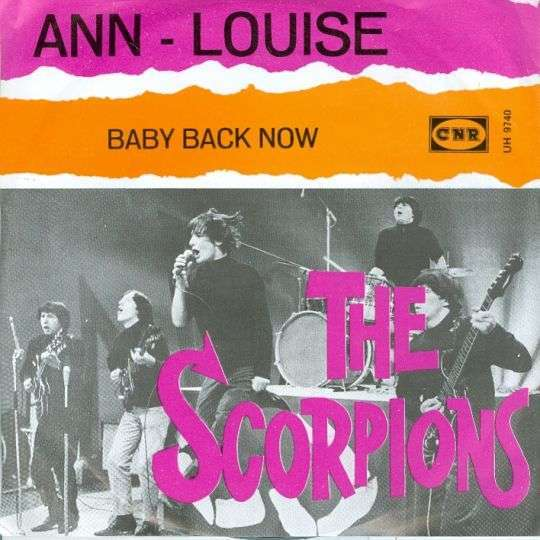 Coverafbeelding Ann-Louise - The Scorpions ((Gbr))