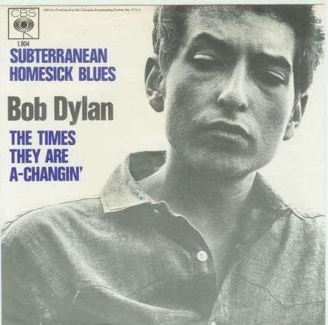 Coverafbeelding Subterranean Homesick Blues/ The Times They Are A-Changin' - Bob Dylan