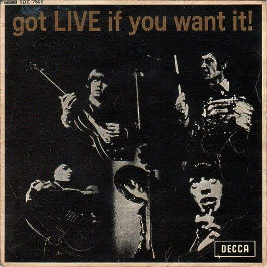 Coverafbeelding The Rolling Stones - Got Live If You Want It! [EP]