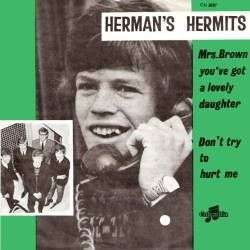 Coverafbeelding Mrs. Brown You've Got A Lovely Daughter - Herman's Hermits