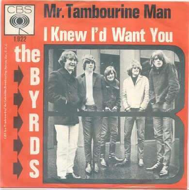 Coverafbeelding Mr. Tambourine Man - The Byrds / The Hunters