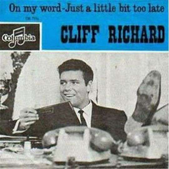 Coverafbeelding On My Word - Cliff Richard